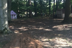 Grading and sod installation - Before (Sohn)