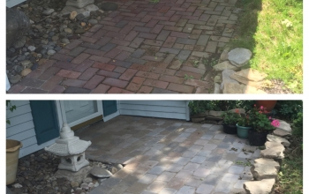 Hardscaping Installation (Columbia)