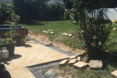 Hardscape Construction - Before (Polk 1)