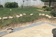 Hardscape Construction - Before (Polk 2)