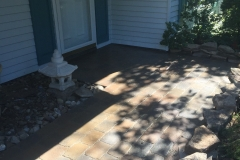 Hardscaping Installation - After (Columbia)