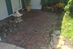Hardscaping Installation - Before (Columbia)