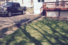 Retaining Wall - Before (Robinson)