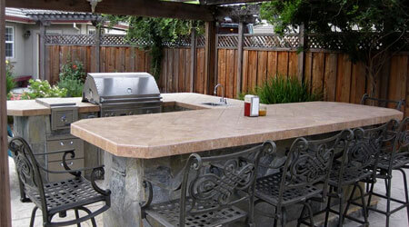Custom Outdoor Kitchens Patio, Pictures Of Outdoor Kitchens And Bars