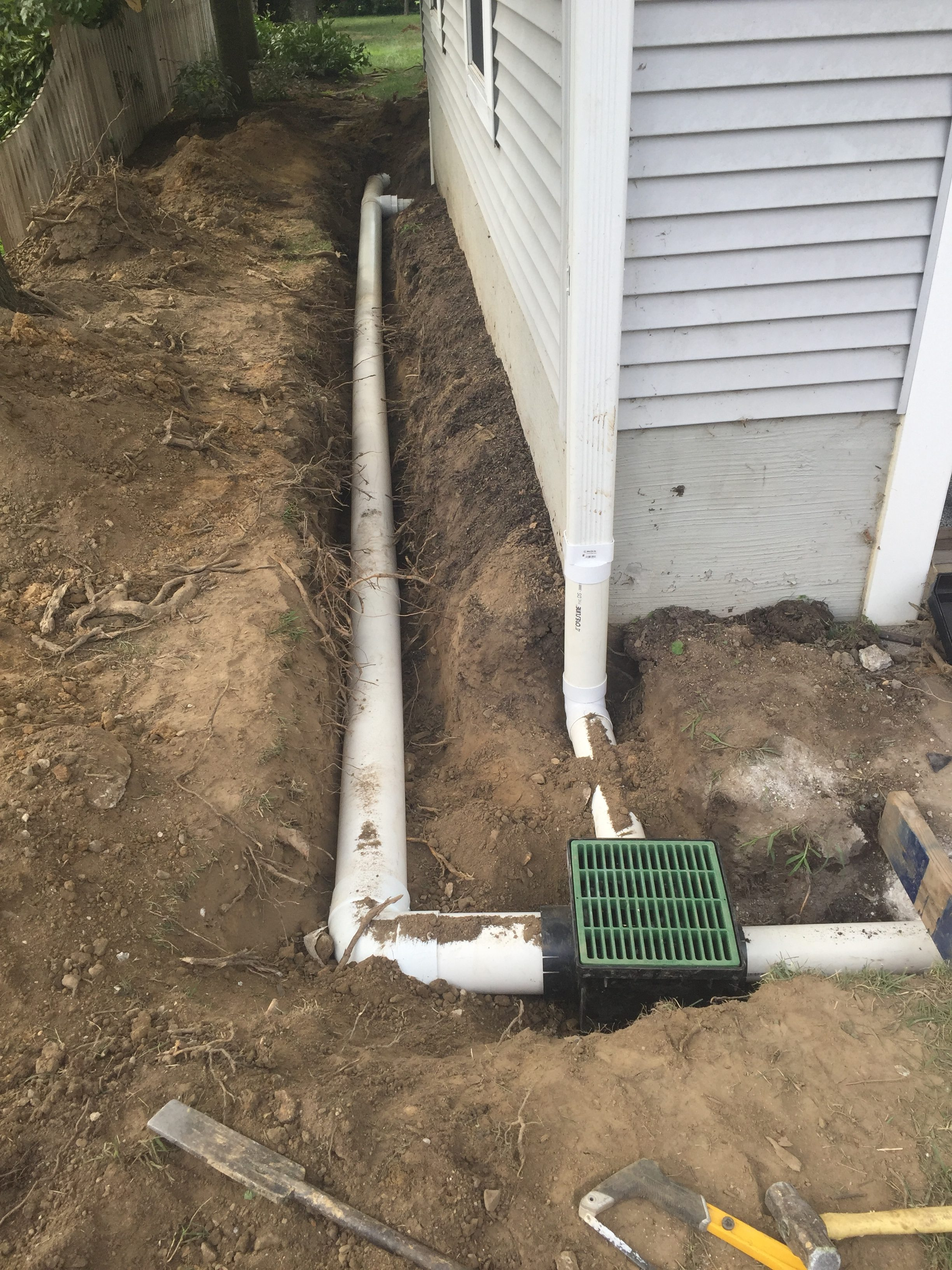 Drainage solutions in catonsville ellicott city and for Home drainage issues
