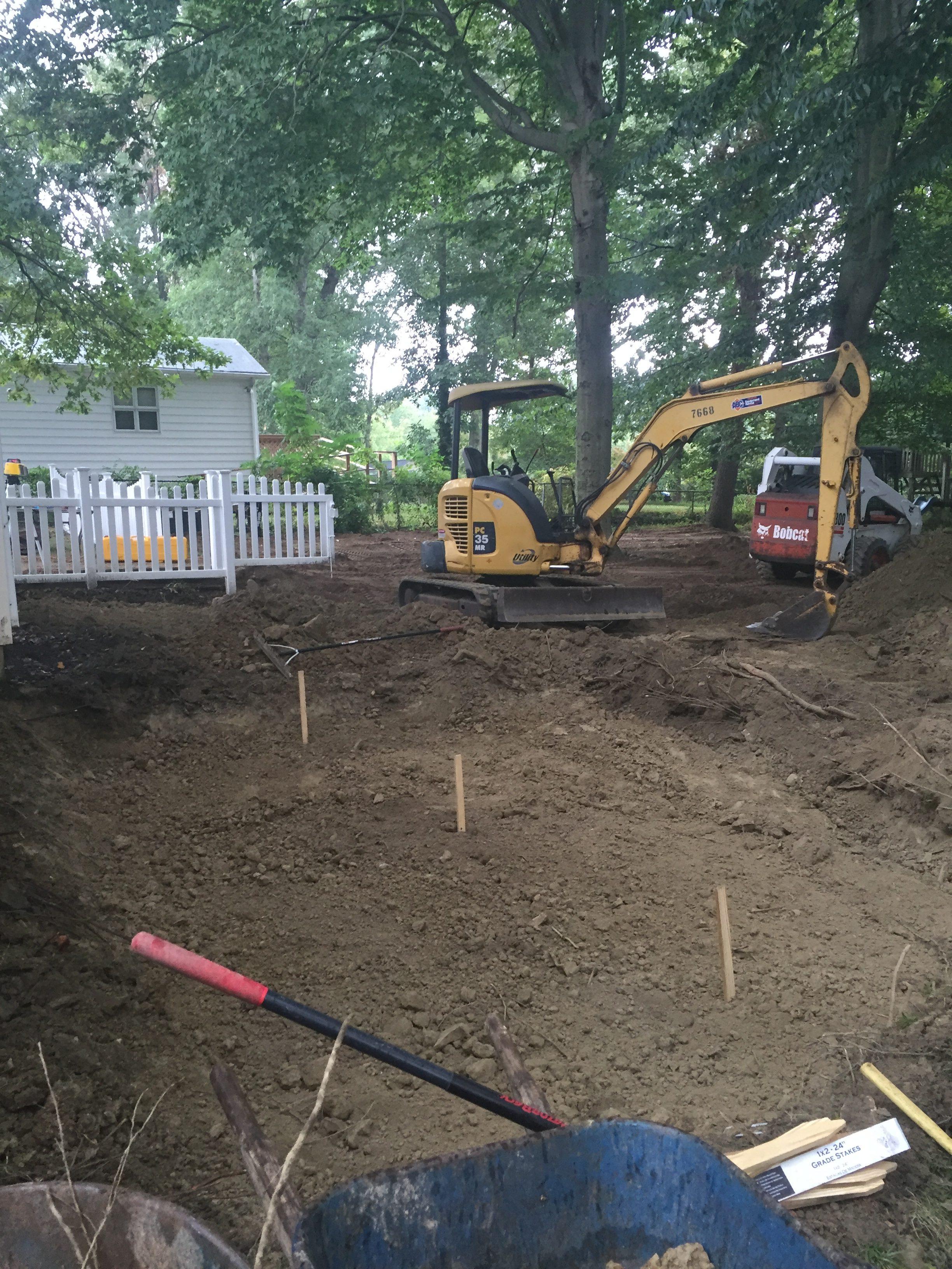 Grading Amp Excavation Services In Catonsville Ellicott